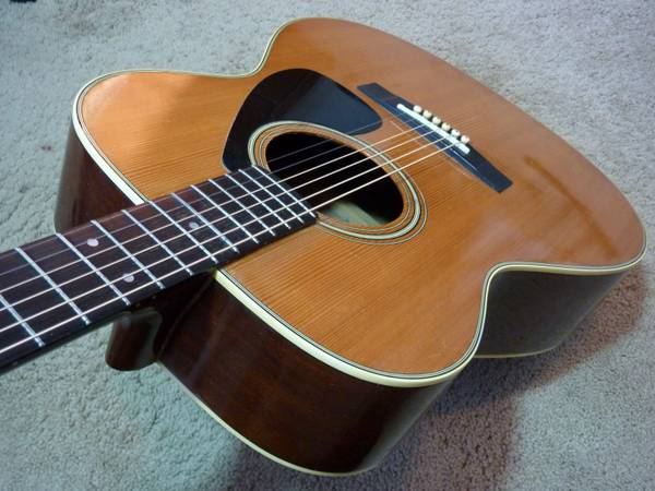 Photo Yamaha SJ-180 Acoustic Guitar - $130 (Prescott Valley)