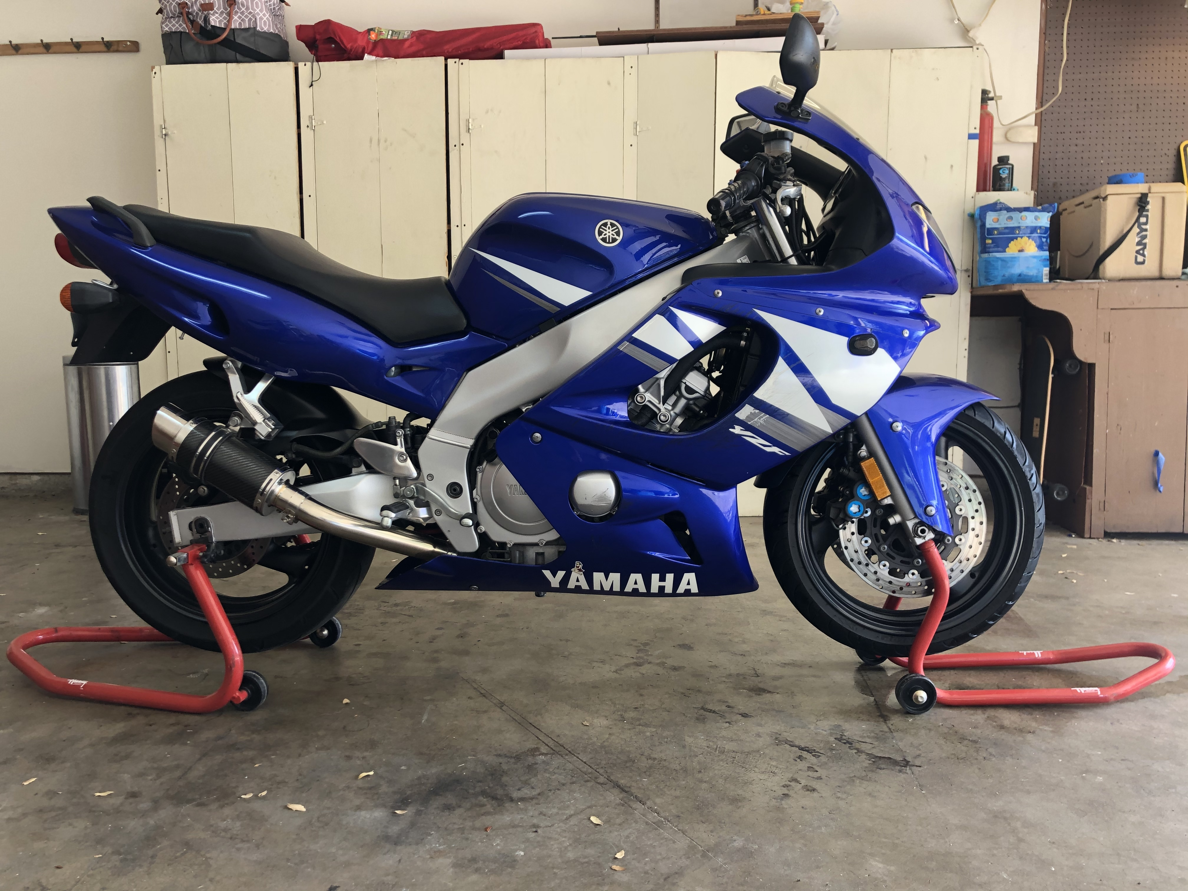 Photo 2004 Yamaha YZF 600R $295074.6474.64