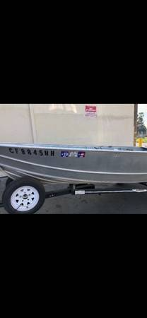 Photo 14ft. GREGOR Fishing Boat - $3,500 (Salt Lake City)