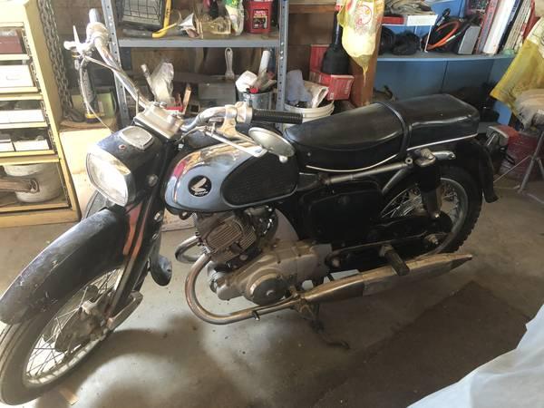 Photo 1963 Honda CA95 150 - $2,100 (Olathe)