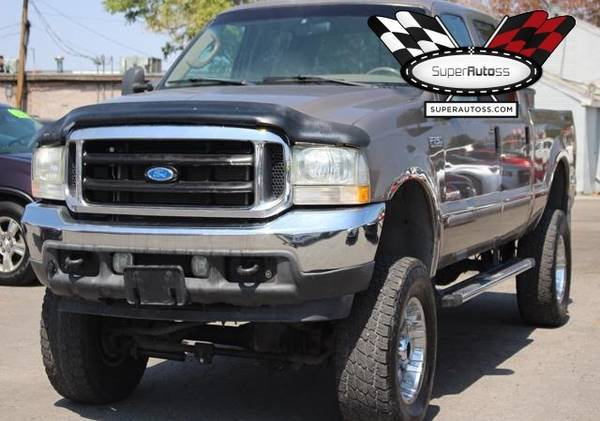 Photo 2004 Ford F-250 Lariat 4x4 Diesel, Damaged, Repairable, Salvage Save - $6,950 (LEHI)
