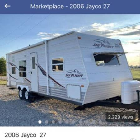 Photo 2006 Jayco Flight 27BH RV $6900 For Sale - $6,900 (Pagosa Springs)
