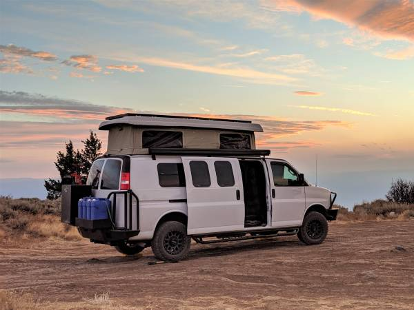 Photo 2017 Chevy Express 4x4 Cer Van with Penthouse Pop-top - $115,000 (Napa, California)