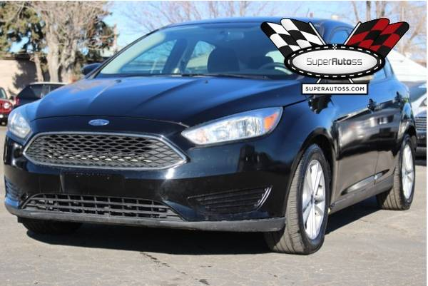 Photo 2017 Ford Focus, Damaged, Repairable, Salvage Save - $4,950 (SPANISH FORK)