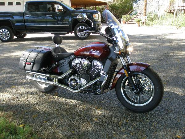 Photo 2017 Indian Scout ABS, Mint - $9,995 (om.gj.co)