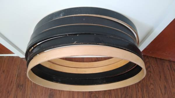 Photo Bass drum hoopsdrum rims - $12 (Twin Falls)