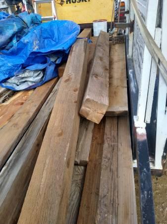 Photo Cedar posts and beams and more - $12,345 (Delta)
