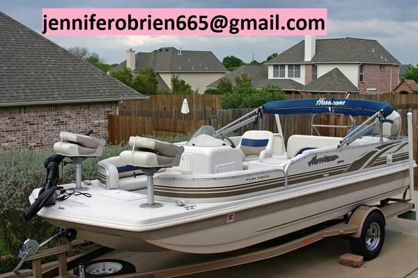 Photo Hurricane Deck Boat 198R new 2003 - $1,500 (South Jordan)