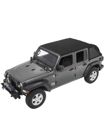 Photo New Bestop Trektop Slantback Soft Top for Jeep Wrangler JL - $900 (Rigby)