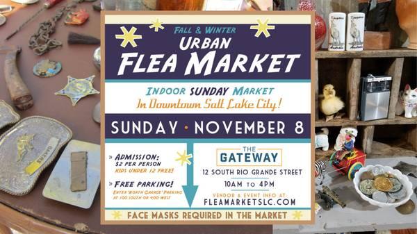 Photo Urban Flea Market Sunday, November 8th (Salt Lake City)