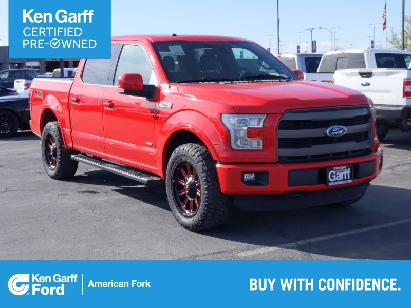 Photo Used 2016 Ford F150 Lariat for sale