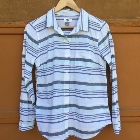 Photo Women39s Old Navy Striped Shirt - Women39s Size Medium - $9 (Yalecrest)