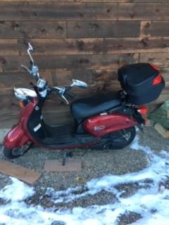 Photo Yamaha Vino 125 cc 2007 - $1,690 (Durango, CO)
