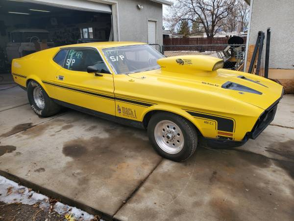 Photo 1972 Ford Mustang Drag Race Car - $10,500 (Pueblo West)