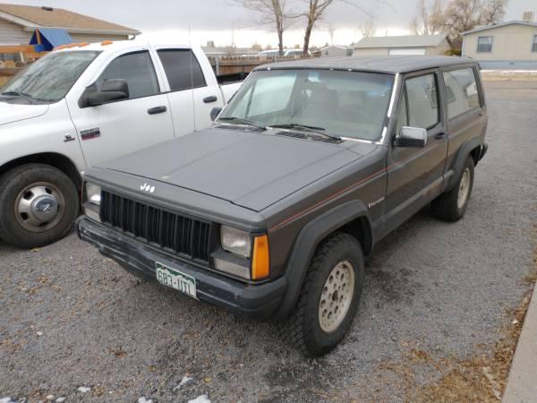 Photo 1988 Jeep Cherokee XJ (2 Door) - $1,985 (Pueblo West)