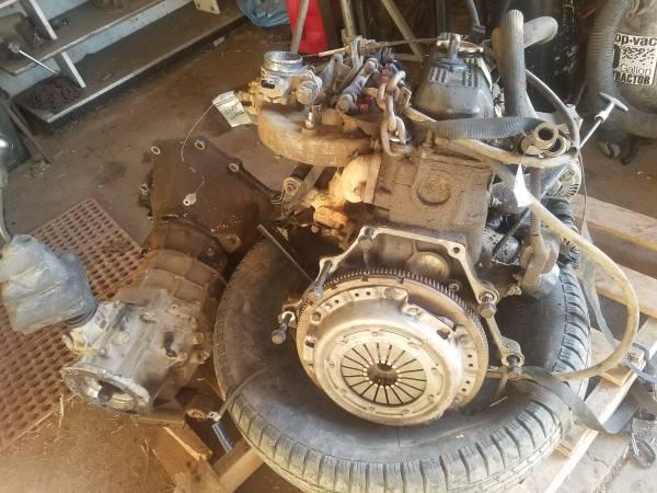 Photo 1995 Jeep Wrangler Engine, Transmission, Transfercase - $600 (Del Norte)