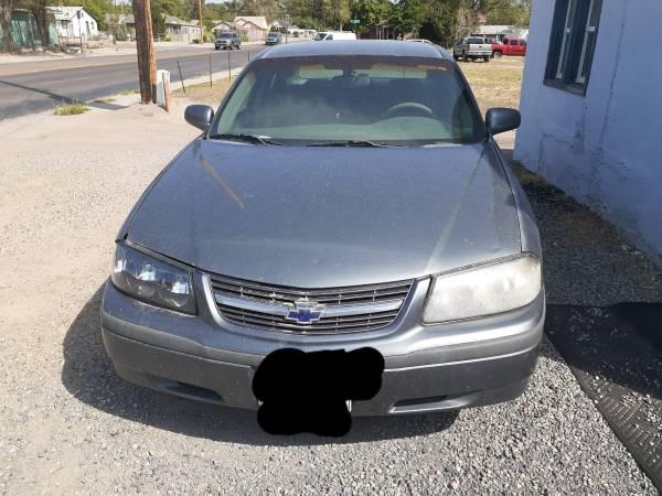 Photo 2003 Chevy Impala - $500 (Pueblo)