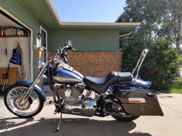 Photo 2003 HD Softail Standard FXST - $5,950 (Greeley)