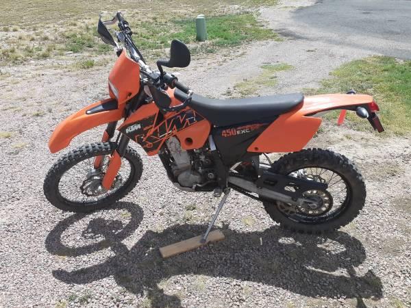Photo 2007 KTM 450 EXC - LOW MILES - $4200 (Pueblo West)