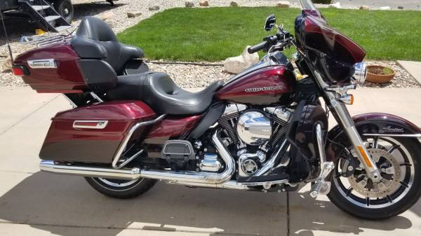 Photo 2015 Harley Davidson Ultra Limited for sale - $15,500 (Pueblo)