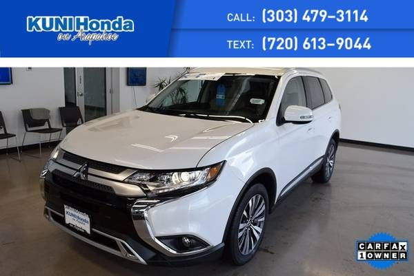 Photo 2019 Mitsubishi Outlander GT 4WD, 3rd Row Seating - $22491 (Centennial)