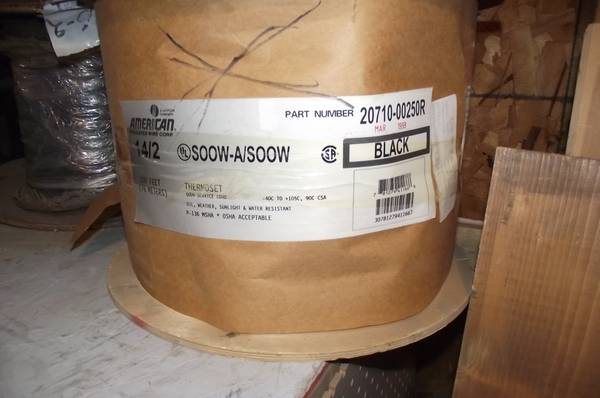 Photo 250 spool 142 soow asoow cable - $75 (Canon City)