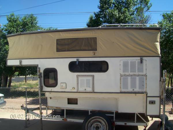84 Truck Bed Pop Up Camper 1100 Canon City Rv Rvs For Sale