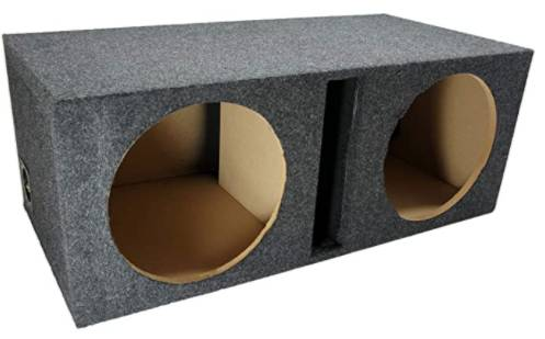Photo Car Audio Dual 12quot Vented Subwoofer Stereo Sub Box - $75 (Canon City)