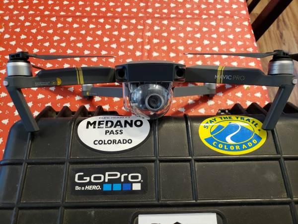 Photo DJI Mavic Pro 4k Drone - $900 (pueblo west)