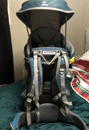 Photo Deuter Kid Comfort 2 II Child Carrier  backpack Hiking - $180 (Pueblo)