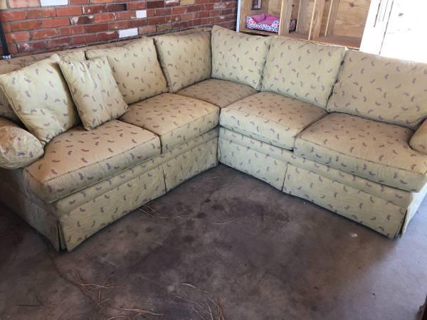 Photo Ethan Allen Sectional Corner Sofa - $250 (South Pueblo)