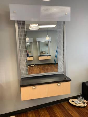 Photo Hair Salon Styling StationsRetail FixturesFurniture (Longmont)