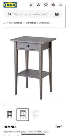 Photo Ikea Hemnes Nightstand (2) - $130 (Pueblo)