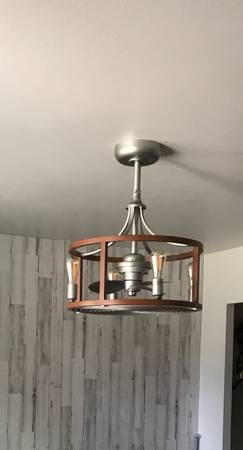 Photo Indooroutdoor fandeliers wremote controls - $175 (Canon City)
