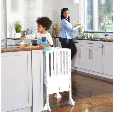 Photo Kitchen helper stool - $100 (Pueblo)