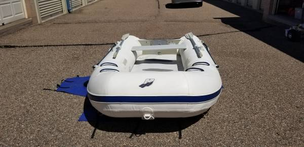 Photo Mercury 310 Air Deck Inflatable Boat With Motor - $1,450 (Pueblo)