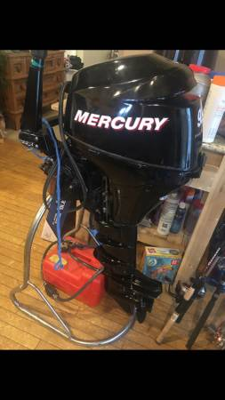 Photo Mercury 9.9 four stroke trolling motor electric start - $1,850 (La Junta)