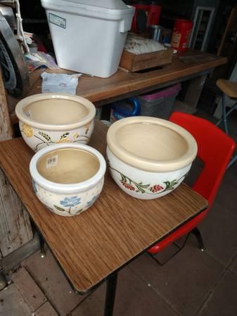 Photo Plants and Beautiful Ceramic Pots. - $10 (Pueblo)