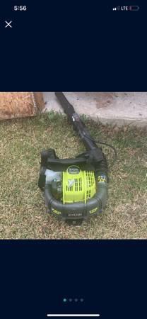 Photo RYOBI 175 MPH 760 CFM 38cc Gas Backpack Leaf Blower - $175 (Pueblo)