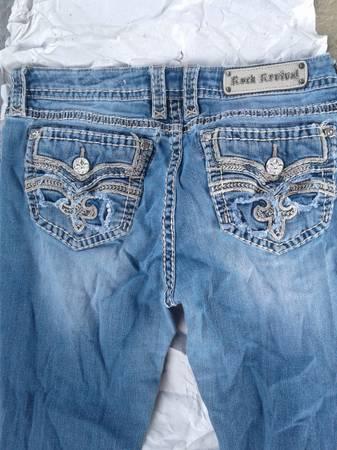 Photo Rock Revival Raven Mens Jeans - $50 (Pueblo)