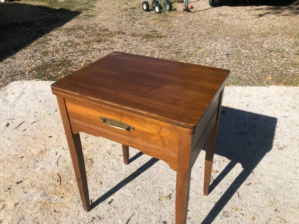 Photo Sewing Cabinet or Desk Sewing Machine Optional - $15 (Pueblo near City Park)
