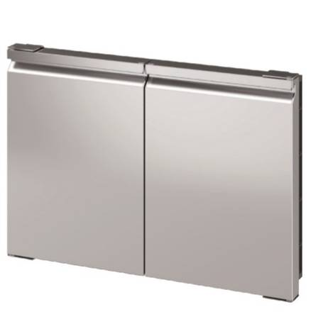 Photo Stainless Steel Basic Double Doors for Grill Island-Kitchen Ronda QL22 - $399 (Englewood)