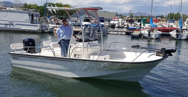 Photo Super Clean 2015 190 Montauk with 2017 Mercury 150 XL 4-stroke EFI - $45,350 (Centennial)