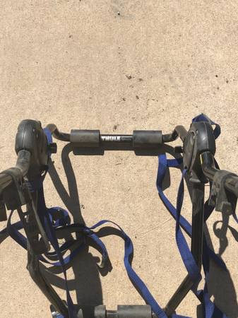 Photo Thule bike rack for two bikes - $75 (Pueblo West)
