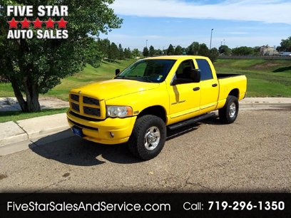 Photo Used 2005 Dodge Ram 2500 Truck 4x4 Quad Cab for sale