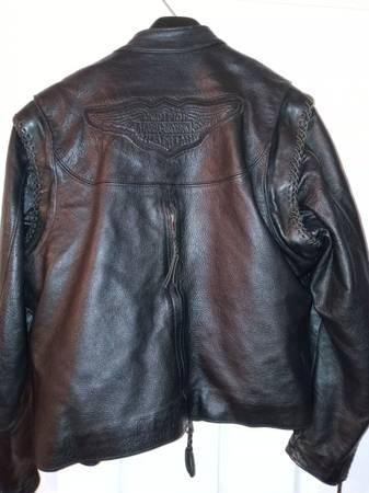 Photo Women39s Harley Davidson leather jacket and chaps - $500 (Pueblo)