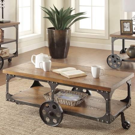 Photo railroad coffee table - $149 (canon city)