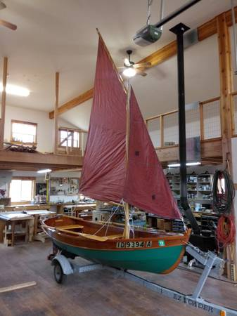 Photo 1339 wooden sailboat - $6,500 (Moscow)
