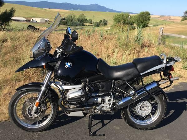 Photo 2000 BMW R1150GS - $6,500 (Pullman, WA)