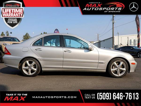 Photo 2004 Mercedes-Benz CClass C Class C-Class 3.2L 3.2 L 3.2-L $94 - $6,980 (Max Autosports of Spokane)